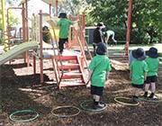 Kids play at Little Burra